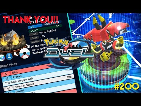 THE 200TH POKEMON DUEL INSTALLMENT; THANK YOU!!