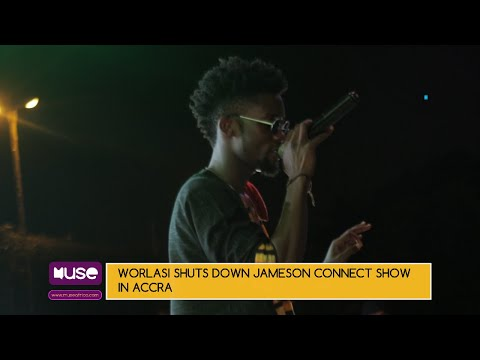 Worlasi shuts down Jameson Connect show in Accra