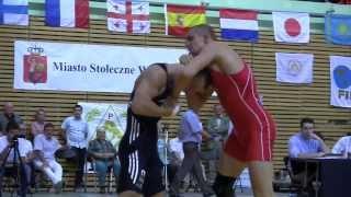 Dawid Ersetic vs Peter Modos - walka o brązowy medal (56. Memoriał im. Władyslawa Pytlasińskiego)