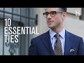 10 Essential Ties - He Spoke Style