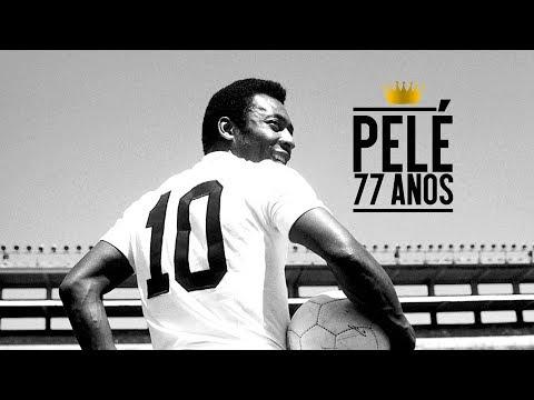 Santos FC parabeniza Pelé pelos 77 anos