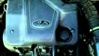 Работа двигателя лады калины!что с ним?