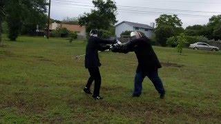 Lone Star Swordplay Guild: Alaric vs Phil    5-21-16