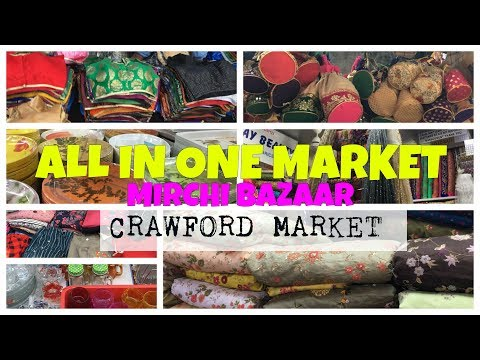 ALL IN ONE MARKET of MUMBAI |A Guide to Crawford market in hindi | the_fabcan | Harshita