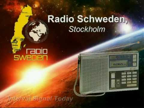 "RADIO INTERVAL SIGNALS - ""Radio Sweden"""