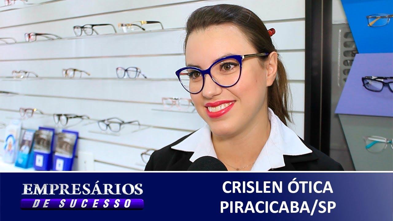 ÓTICA CRISLEN PIRACICABA SP, EMPRESÁRIOS DE SUCESSO VTV SBT - YouTube b7f3fab48d