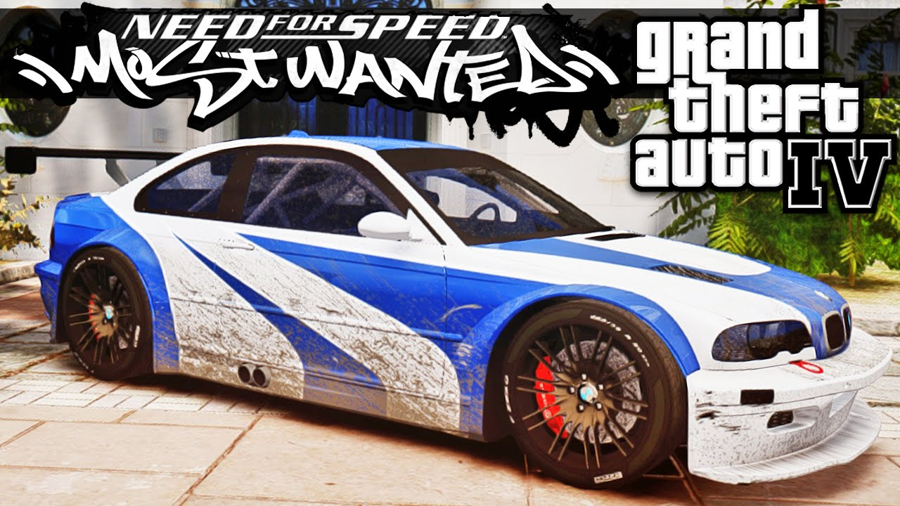 BMW M3 Need For Speed Most Wanted - GTA IV - YouTube