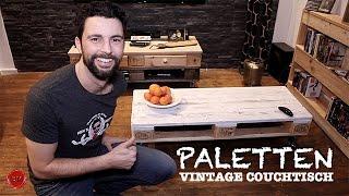 PALETTEN- VINTAGE Couchtisch TUTORIAL I Ben