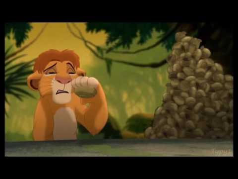 The Lion King 3 - Snail Slurping Contest (Finnish) [HD]