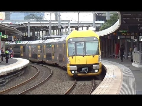Australian Trains - Parramatta Station & The Indian Pacific