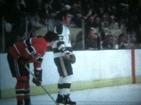 Vintage Hockey 4 - North Stars Vs Canadiens 1971