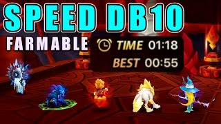 Farmable/No Verde/No Galleon SPEED DB10 Team in Summoners War