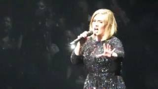 "Adele Opening - ""Hello"" LIVE 7/6/16 Xcel Energy Center: Saint Paul, MN"