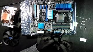 Установка Zalman CNPS10X Performa на материнську плату ASUS M5A99X EVO R2 0 і AMD FX 8350