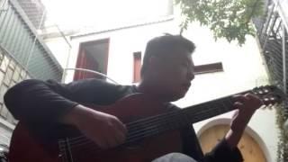 thành phố buồn - cover Guitar