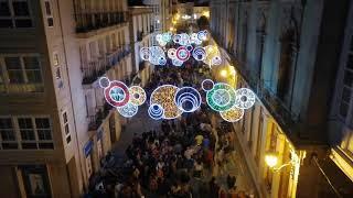Lugo luces en San Froilán 2019