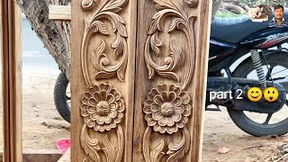#CNCMISSIONS not work only hand work wood Carving latest training model wood carving Mahindra AP