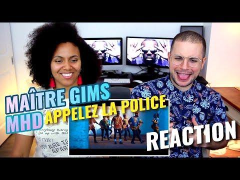 Maitre Gims & MHD - Appelez la police | Dvj Hamada Extended Video Edit | REACTION
