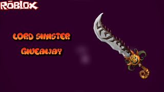 COME VINCERE UN LORD SINISTER 2017 RARE EXOTIC (ROBLOX ASSASSIN EXOTIC GIVEAWAY)