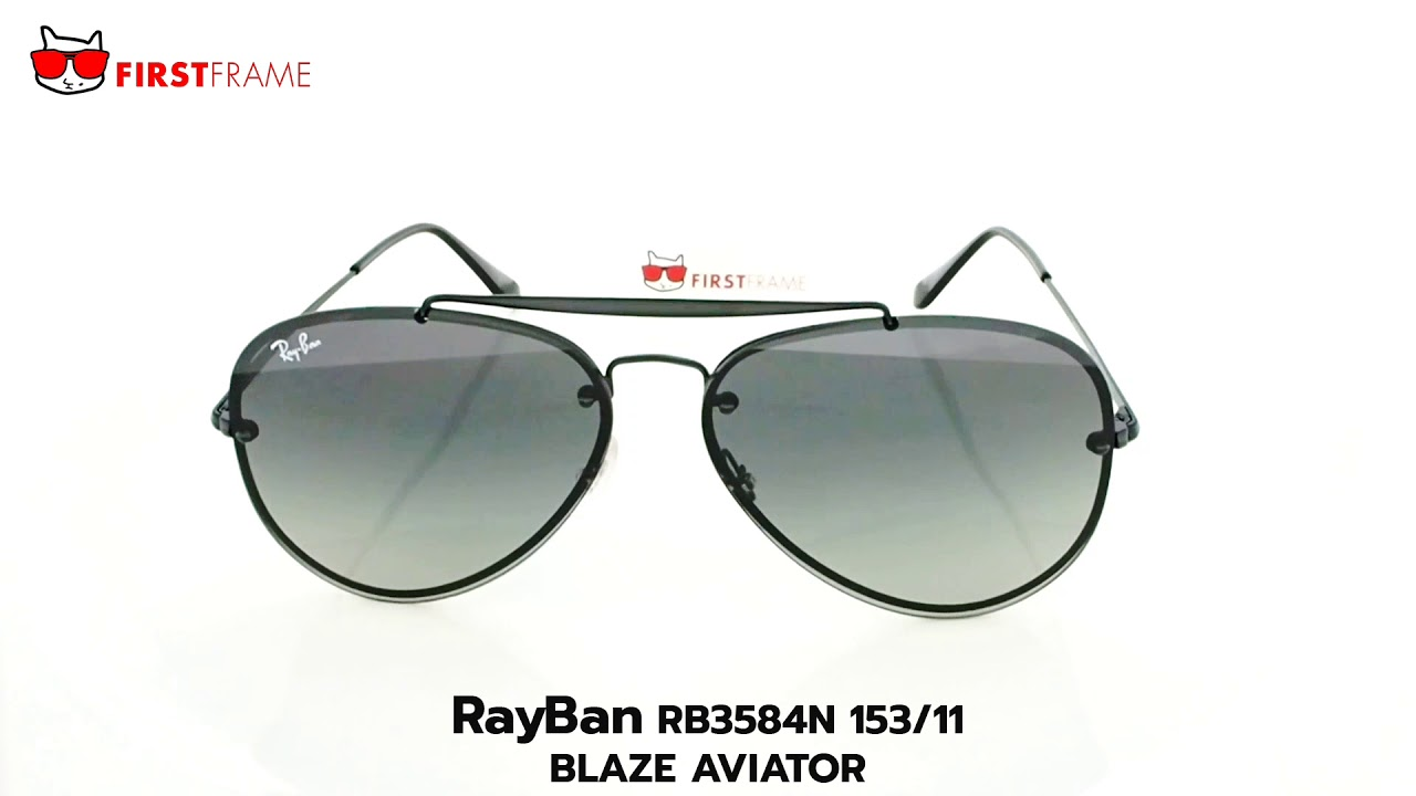 836c2709d18 RayBan RB3584N 153 11 BLAZE AVIATOR - YouTube