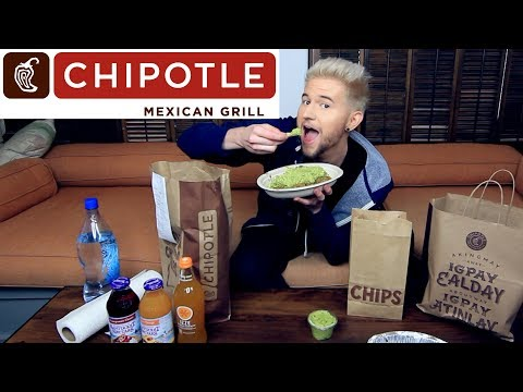 CHIPOTLE MUKBANG (Eating Show) Watch Me Eat & RANT!