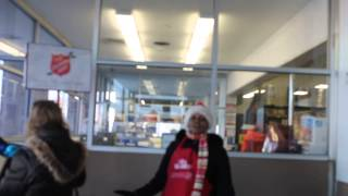 Silver Bells - Salvation Army Lady @ Sam's Club