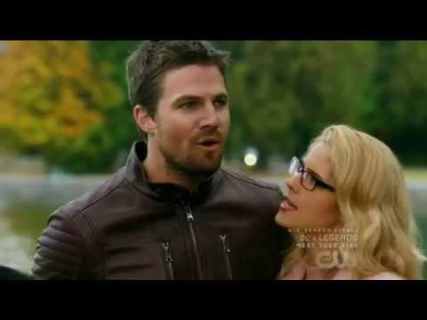 Download DCs Legends of Tomorrow 3x08 Ending scene Barry marries Iris & Oliver marries Felicity