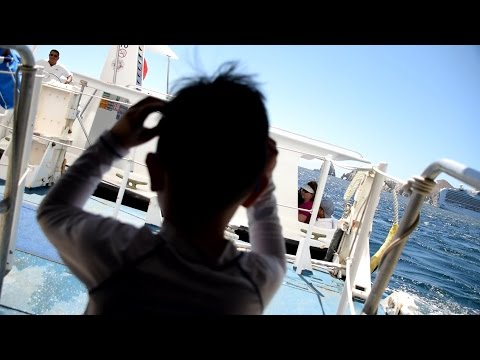 Boarding Tender Boat Leaving Cruise Ship