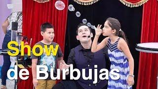 Show de Burbujas - Magia y burbujas -  con el Mago Biondi