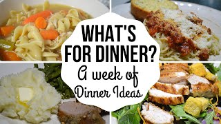 What's for Dinner I Supper Ideas I What we had for dinner this week I Menu Planning I Dinner Ideas