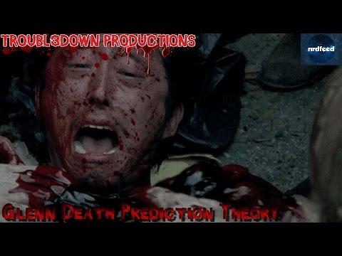 hqdefault the walking dead glenn death prediction theory youtube