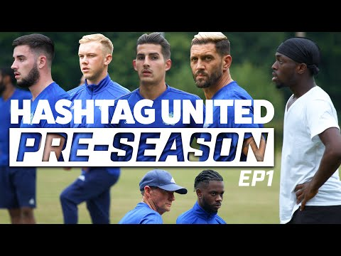 HASHTAG ACADEMY BOYS JOIN THE SQUAD! - HASHTAG UNITED PRE-SEASON 19/20 EP1