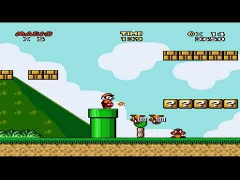 Super Mario World Levels Game Maps - Mario Mayhem