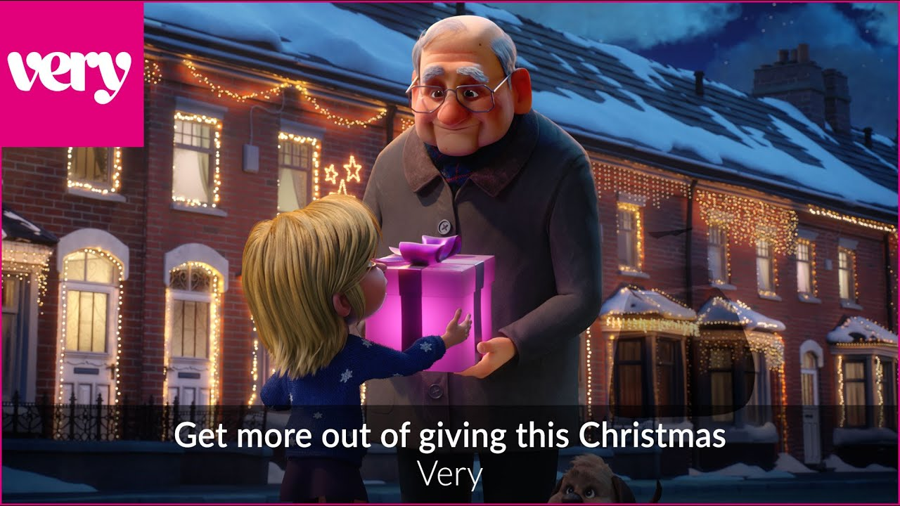 Very.co.uk Christmas Advert 2019   Get More Out of Giving