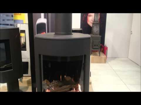 poele gaz en fonctionnement youtube. Black Bedroom Furniture Sets. Home Design Ideas