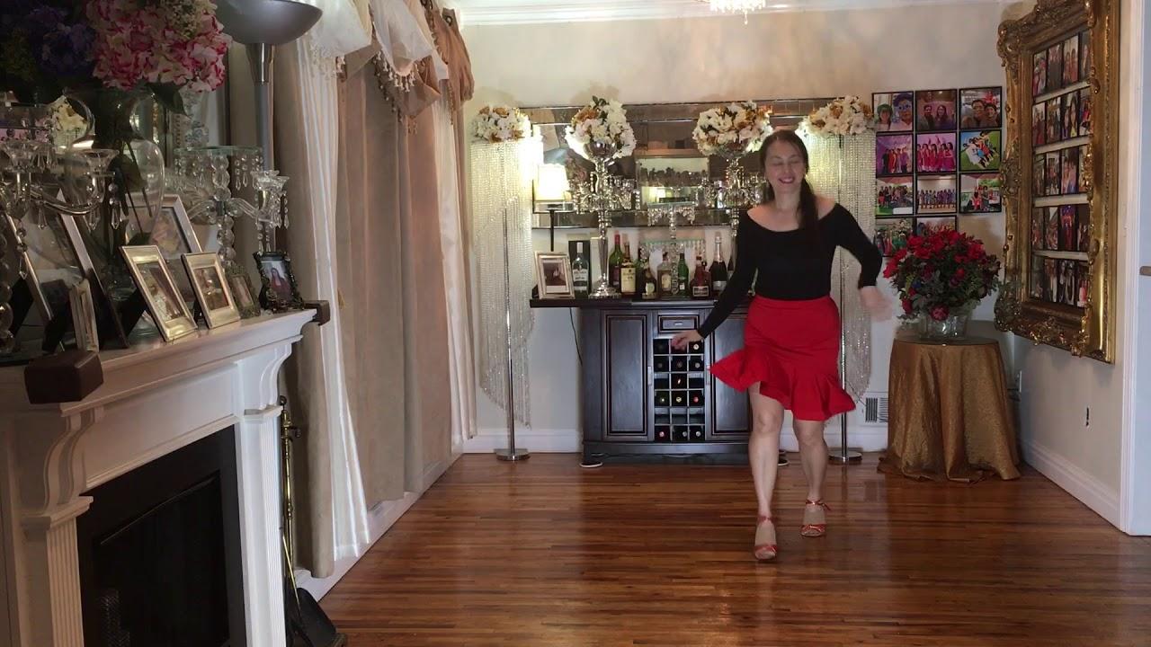 Desatame Bachata Line Dance- Choreographed by Eva Sapina