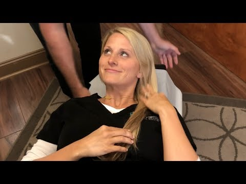 Dr Cipriano- Neck Pain & Neck Stiffness RELIEF with Y- Strap CHIROPRACTIC Technique