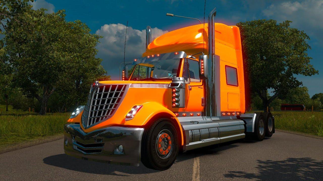 International Orange Truck