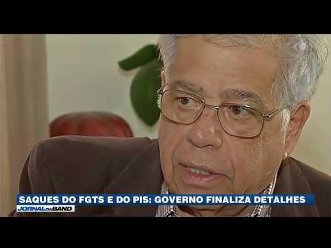 Saques do FGTS e do PIS: governo finaliza detalhes