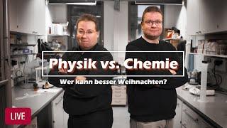 """Livestream der Weihnachtsvorlesung """"Chemie vs. Physik"""" thumbnail"""