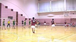 2005年度 北海道学生ハンドボール秋季リーグ3部(未来大 vs 酪農大)