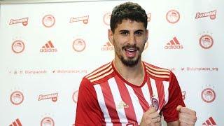 Ο Ζιλ Ντίας στον Ολυμπιακό! / Gil Dias joins Olympiacos!