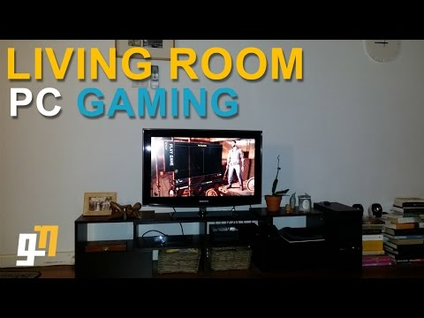 LIVING ROOM PC GAMING - with Steam's in-built streaming service