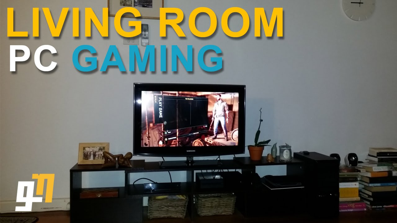 Living Room Pc Gaming Living Room Pc Gaming  With Steam's Inbuilt Streaming Service .