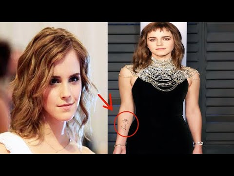 Emma Watson jokes about fake tattoo error: Proofreading position available