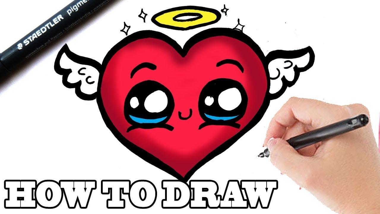 hoe teken je een mooi hartje