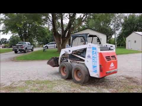 1995 Bobcat 743b Skid Steer For Sale No Reserve Internet Auction