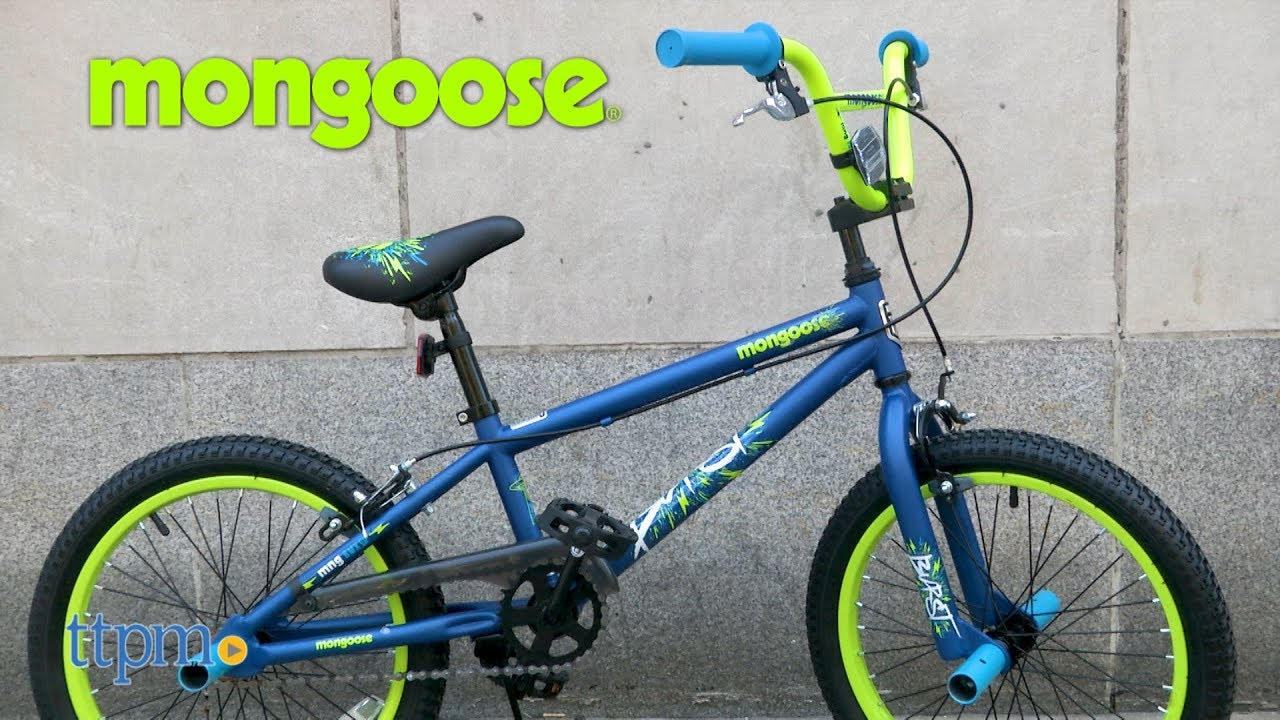 Boys 18-inch Mongoose Burst Bike from Pacific Cycle