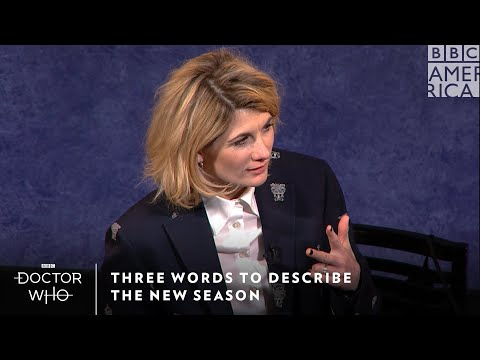 Three Words for This Season | Doctor Who | Sundays at 8/7c | BBC America