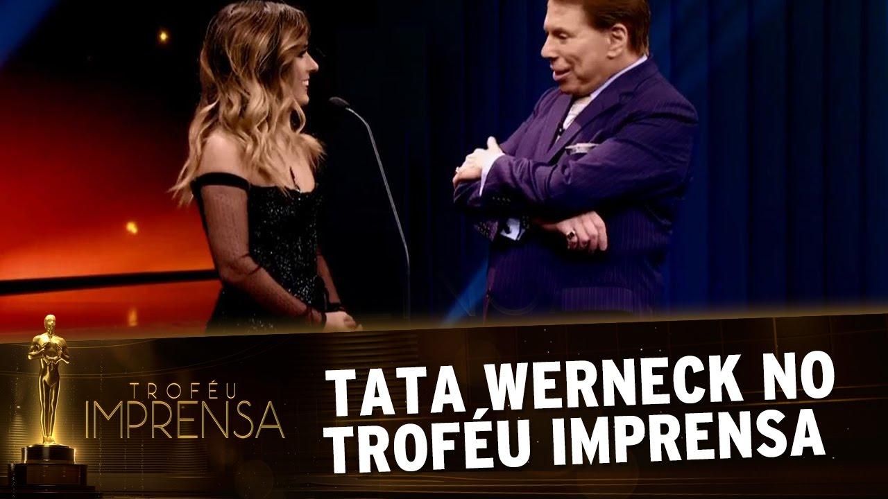 Resultado de imagem para trofeu imprensa 2017 TATA WERNECK